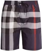 Burberry House-check straight-leg swim shorts