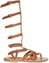 K Jacques St Tropez Appia Leather Gladiator Sandals