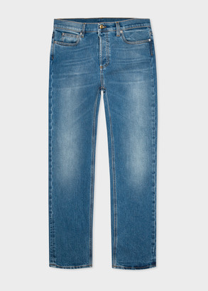 Paul Smith Men's Slim-Fit Mid-Wash Denim Jeans