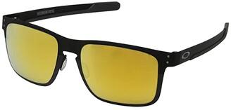 Oakley Holbrook Metal (Polished Black/Prizm 24K Polarized) Sport Sunglasses