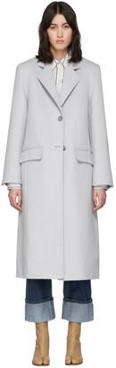 Maison Margiela Off-White Cashgora Coat