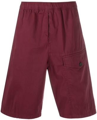 Acne Studios Elasticated Waistband Bermuda Shorts