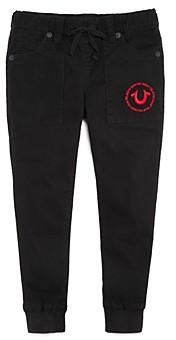 True Religion Boys' Twill Jogger Pants - Little Kid, Big Kid