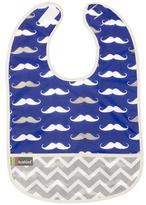 Kushies Cleanbib 6-12M Navy Mustache