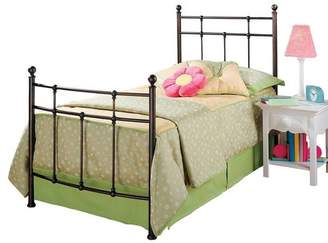 Hillsdale Furniture Providence Bed with Rails - Antique Bronze (Twin)