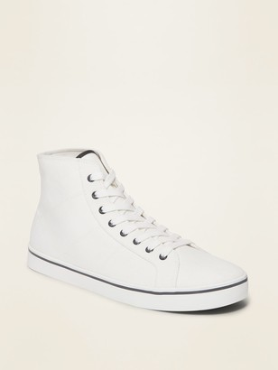 Old Navy Canvas High-Top Sneakers for Men
