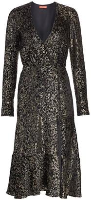 Altuzarra Martha Metallic Midi Dress