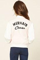 Forever 21 FOREVER 21+ Girls Varsity Jacket (Kids)
