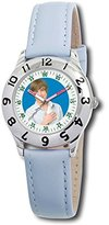 Disney Kids' D050S400 High School Musical Troy Blue Leather Strap Watch