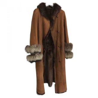 Awake Brown Fur Coat for Women