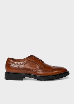 Men's Tan Leather 'Gustav' Brogues