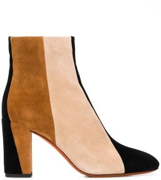 Santoni Colour Block Ankle Boots