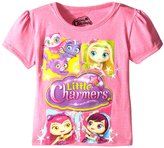 Nickelodeon Extreme Concepts Little Girls' Charmers Boxes Group Shot TG Bubble Sleeve Tee