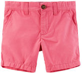 Carter's Flat-Front Twill Shorts