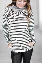 Ampersand Avenue DoubleHoodTM Sweatshirt - Tan