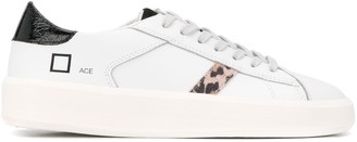 D.A.T.E Flat Low Top Sneakers