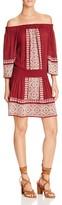 Tularosa Off-The-Shoulder Peasant Dress