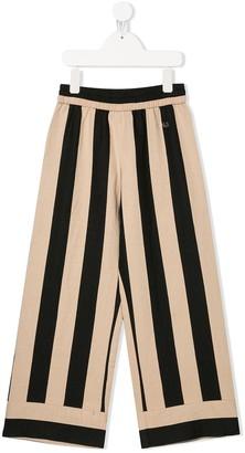 MonnaLisa Striped Palazzo trousers