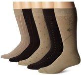 Dockers 5-Pack Classics Dress Dobby Crew Socks