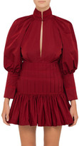 Ellery Skyward Pleat Mini Dress