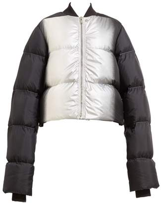 Rick Owens Cropped Duvet Down Puffer Jacket