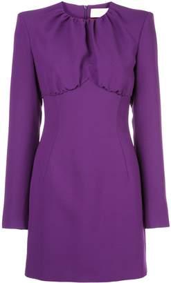 Sara Battaglia fitted mini dress