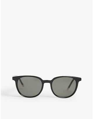 Le Specs Nomad round-frame sunglasses