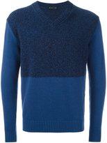 Etro colour block jumper