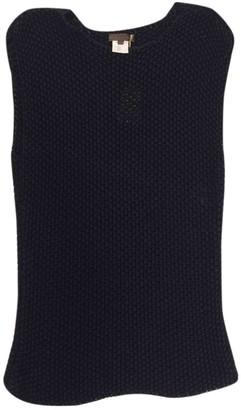 Loewe Navy Silk Knitwear for Women Vintage