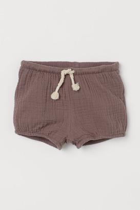 H&M Cotton Puff Pants - Beige