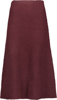 M Missoni Wool-blend bouclé midi skirt