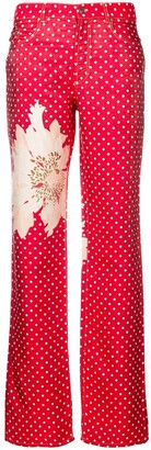 Gianfranco Ferré Pre-Owned 1990's Polka Dot Trousers