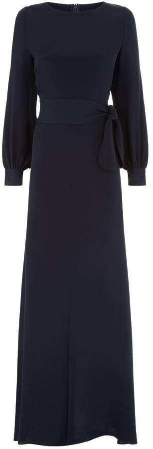 Goat Eveline Belted Maxi Dress