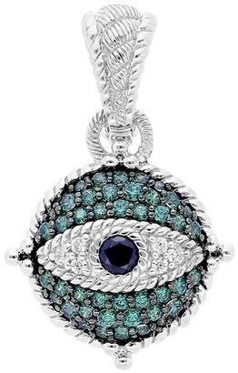 Judith Ripka Sterling Diamonique Evil Eye Enhancer