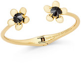 Kate Spade Sunset Blooms Gold-Tone Open Cuff Bracelet