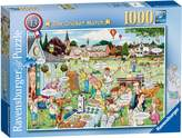 Ravensburger Best Of British The Cricket Match 1000pc Puzzle