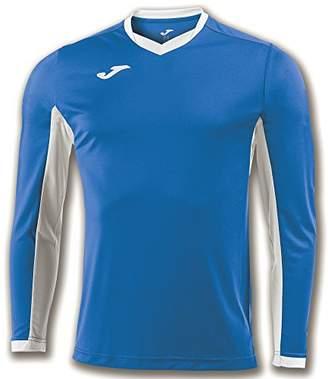 Joma Champion Iv M/L - Equipment T-Shirt Man, Mens, 100779.702_S, Royal/White, S