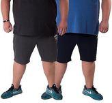 Slazenger Mens Plus Size Casual Elasticated Waistband Shorts by Sizes 2XL – 5XL