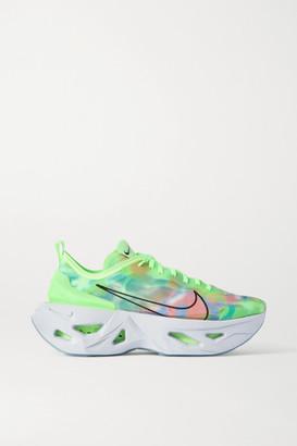 Nike Zoomx Vista Grind Mesh Sneakers - Bright green