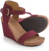 Adrienne Vittadini Ted Wedge Sandals - Suede (For Women)