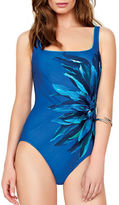 Gottex Floral Moderate Cover Swimsuit