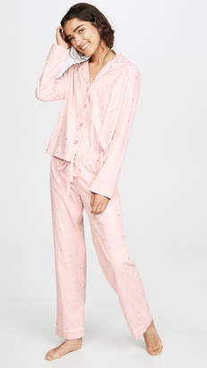 PJ Salvage Chelsea Fit Flannel PJ Set