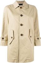 DSQUARED2 barracuda twill stretch trench coat - women - Cotton/Spandex/Elastane - 44