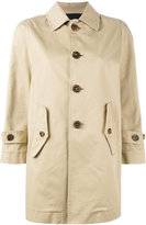 DSQUARED2 barracuda twill stretch trench coat