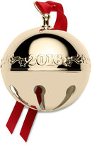 Mikasa Wallace® 2016 Gold Plated Sleigh Bell Ornament, 27th Edition