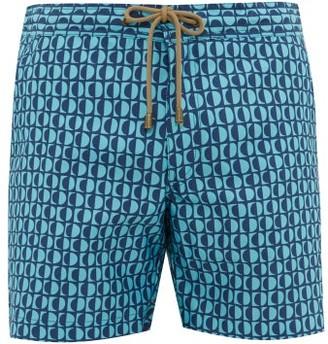 Thorsun Luna Print Titan Fit Swim Shorts - Mens - Blue