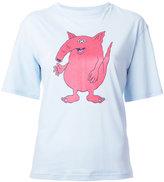 G.V.G.V. cartoon print T-shirt - women - Cotton/Lyocell - XS