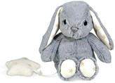 Cloud b 8'' Grey Bunny Musical Plush Toy