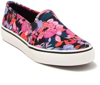 Keds Double Decker Floral Print Slip-On Sneaker