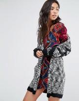 Billabong Shawl Cardigan In Chunky Knit
